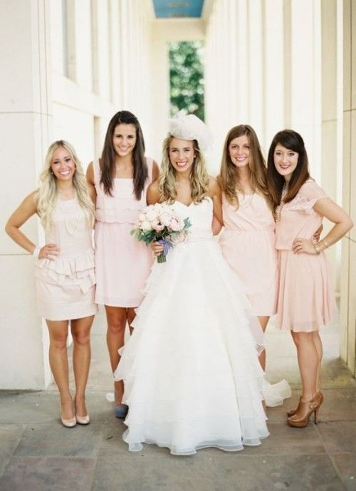 32 Trendy Mismatched Bridesmaids\' Dresses Ideas   bridesmaid dresses ...