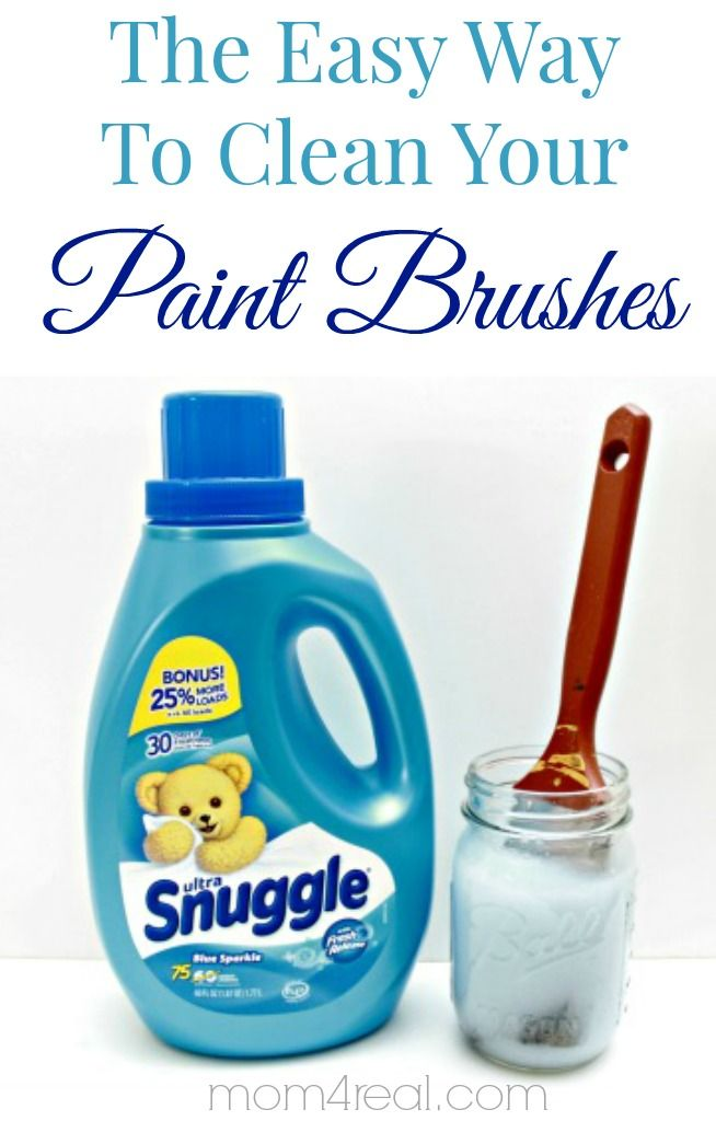 how to clean dried paint brushes with vinegar