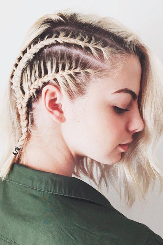 zopf kurze haare