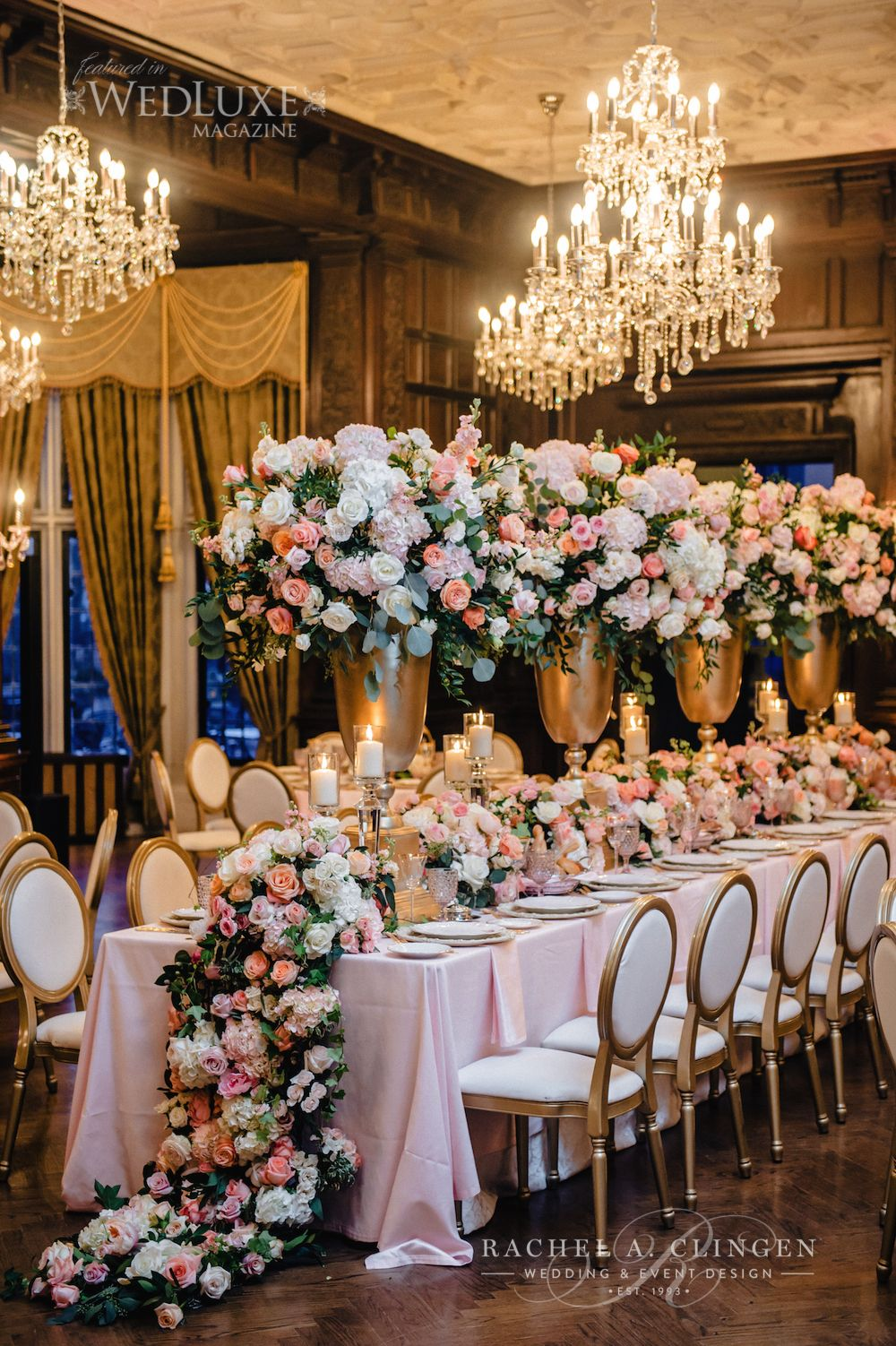 Magical casa loma wedding wedding decor toronto rachel a clingen