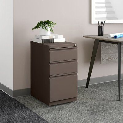 Upper Square™ Premo 3-Drawer Mobile Vertical Filing Cabinet | Wayfair