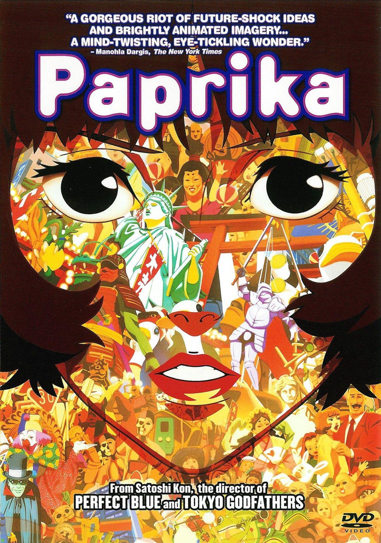 Satoshi Kon 2006 Paprika M99 Movie Film Movieposter Animation Cartoon Comedy Anime Japan Anime Films Anime Movies Anime