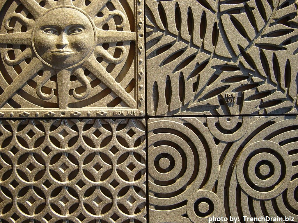 Decorative Metal Grates 17 Best Ideas About Drainage Grates 2017 On Pinterest Trench