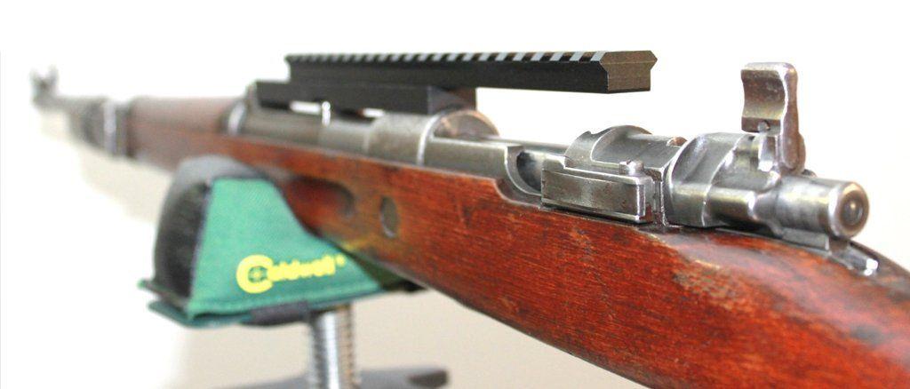 Low-profile Mauser K98 NDT (No Drill-Tap) Scope Mount Kar98k, K98K