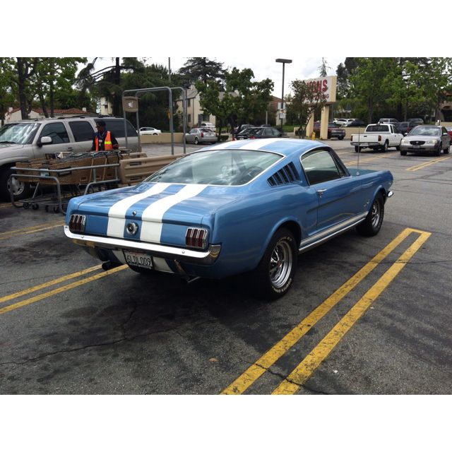 """The length and height were increased, 2.7"""" 64 Mustang Fastback With Images 65 Mustang Fastback Dream Cars Mustang Fastback"""