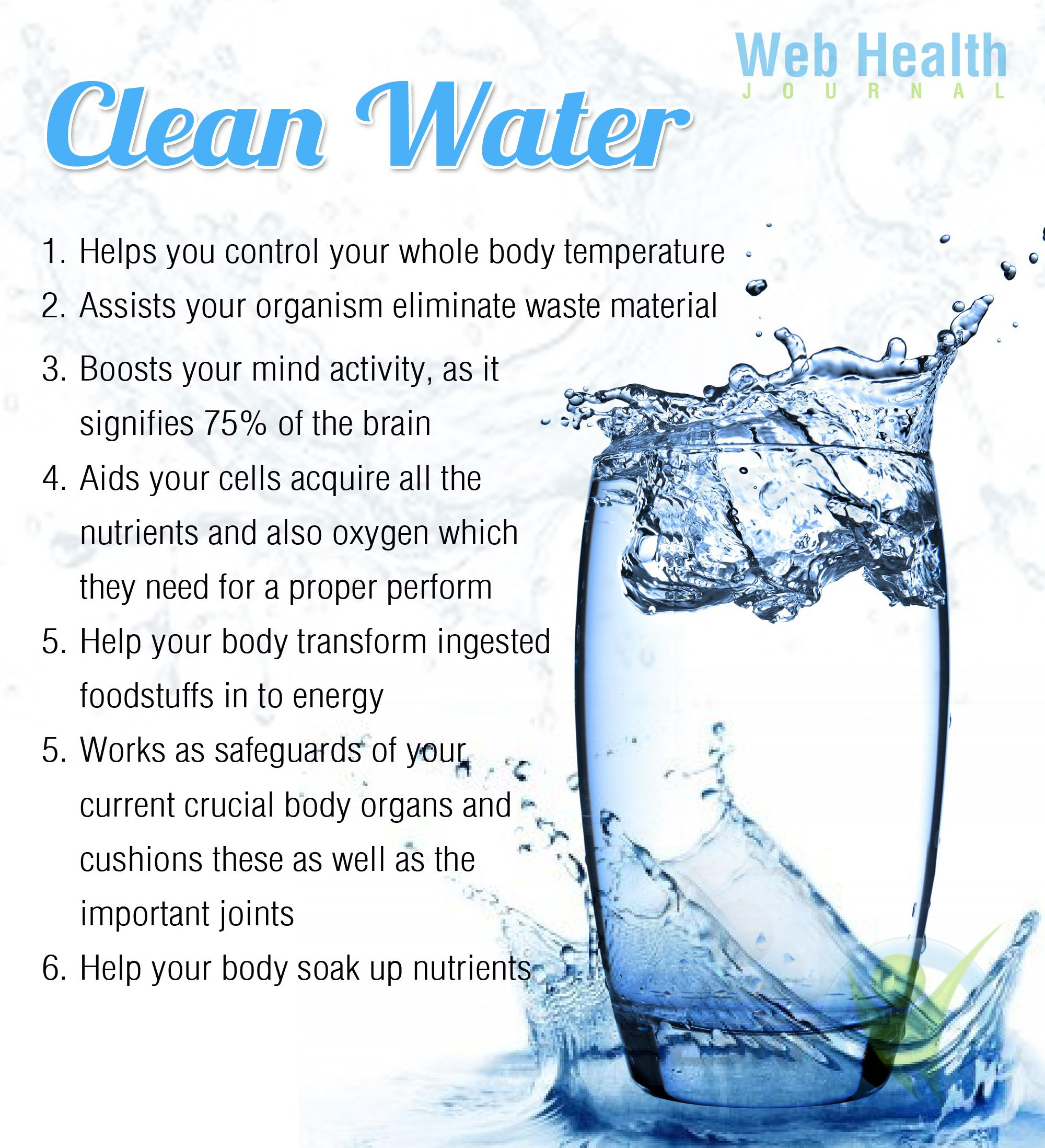 Health benefits of clean water wellness quotes clean