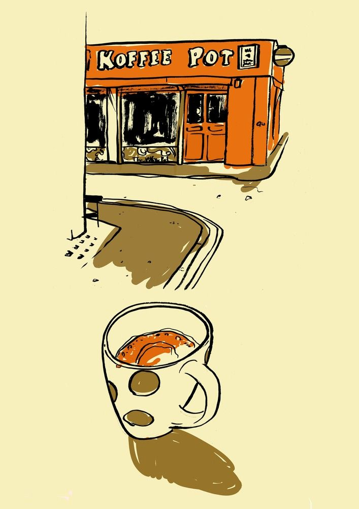 Koffee Pot (Joshua Brent) I like the way the media is used
