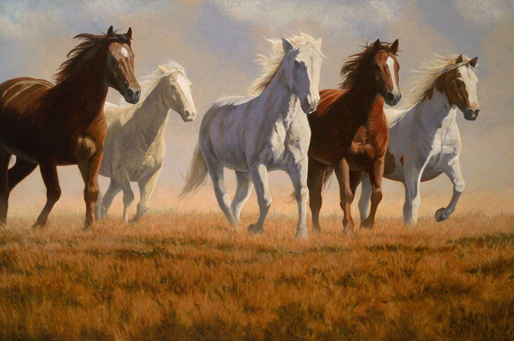 Horse painting by Daniel San Souci | Art - Horses ...