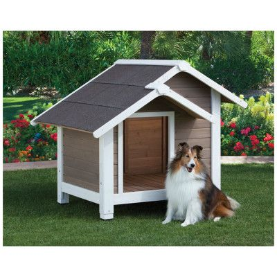 Top Paw Outback Twin Peaks Doghouse Cachorros Perros Animales