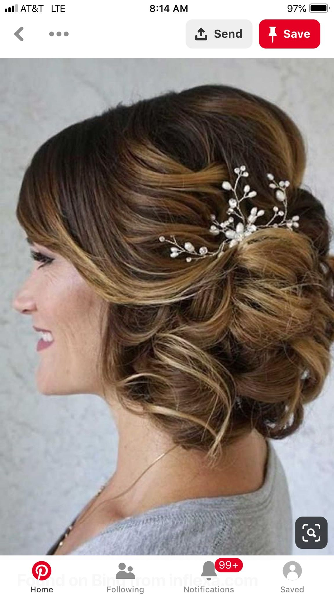 Pin By Alicia Hernon On Katie Wedding Mother Of The Bride Hair Wedding Hairstyles Updo Wedding Hairstyles For Medium Hair
