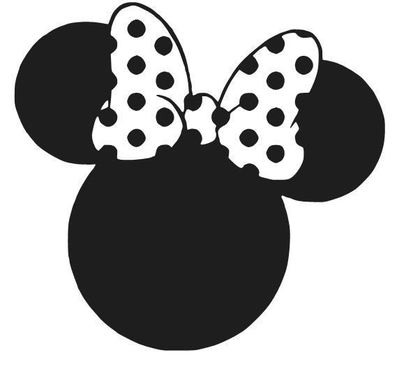 Minnie Mouse Ears Decal Sticker Disney Window Car Laptop Choose - Disney custom vinyl decals for car
