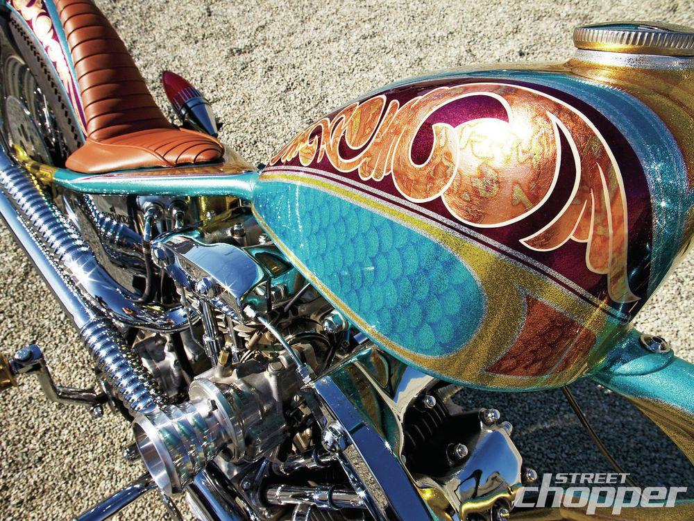 The Italian Cholo | 1969 Harley-Davidson Pan/Shovel | Street Chopper ...