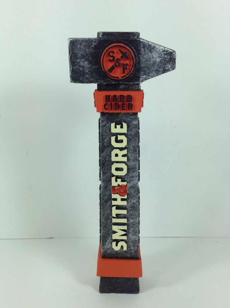 Mini Smith & Forge Hard Cider Beer Tap Handle Iron Hammer Figural ...