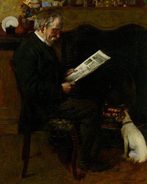 Charles Spencelayh (1865-1958)  Daily Graphic