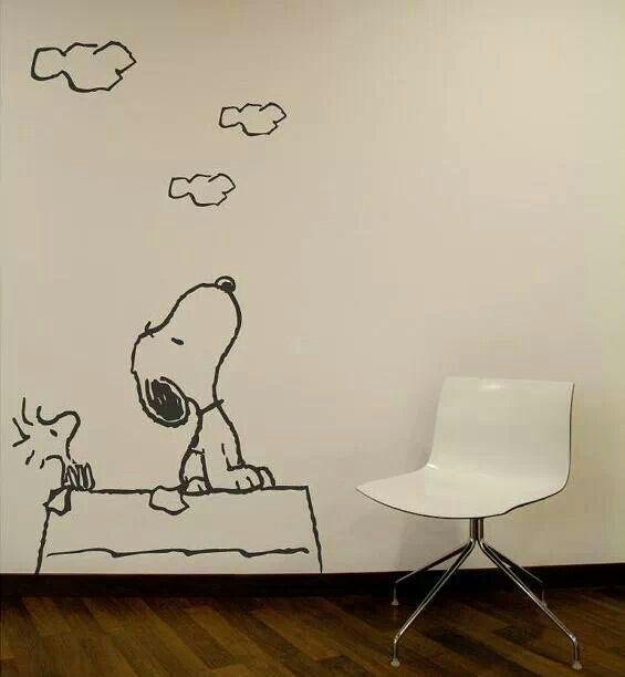 Home Kitchen Snoopy Vinyl Decal Sticker Charlie Brown Dog Kids Light Switch Room Decor Nursery
