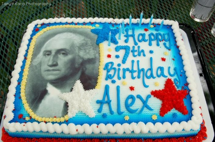 George Washington Cake Birthday Party Photography Presidents Day American Revolution