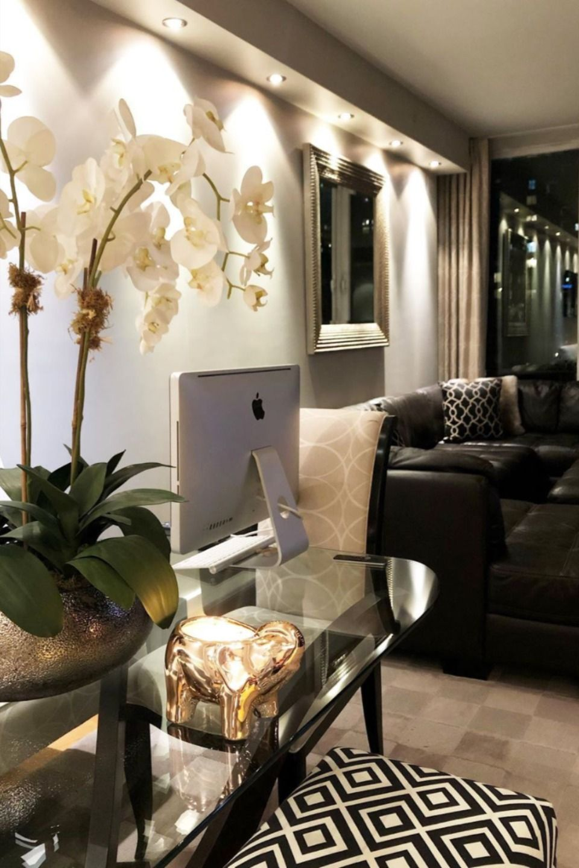 Gold Elephant Candle Living Room Office Modern House Design Dinning Room Tables Living room table elephant