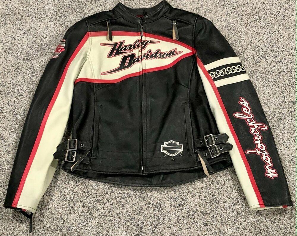 Harley Davidson Women S Dash Leather Jacket Small 97102 12vw Ebay Harley Davidson Women Davidson Harley Davidson [ 796 x 1000 Pixel ]