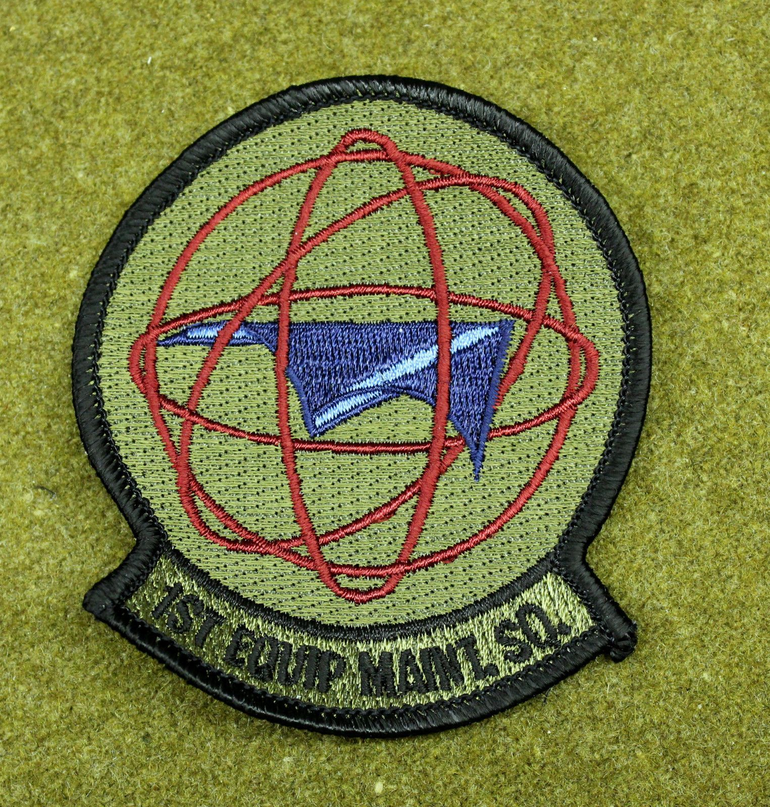 27383) Patch USAF 1st Equipment Maintenance Squadron Air