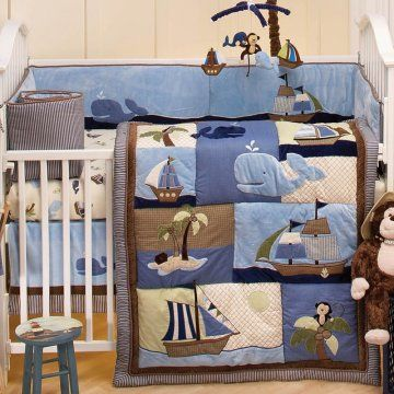 Fun Ships With Whales And Monkeys Fun To Accessorize Baby