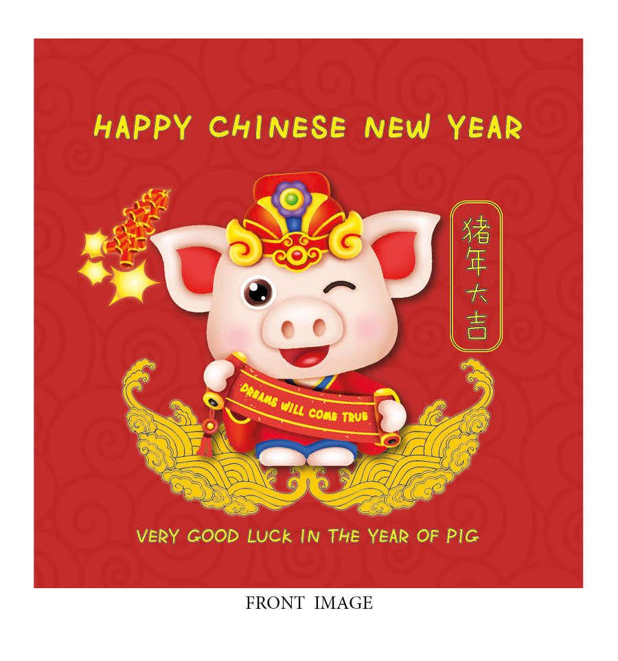 5 of Chinese New Year Cards £10 Free Delivery 4 Spring
