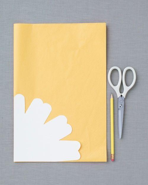 Tissue Paper Flower Favors Template Diy Paper Flowers Paper