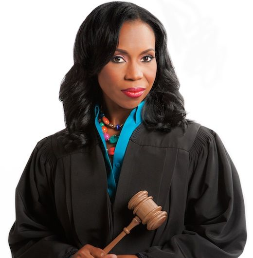 """When you hear the title """"Paternity Court,"""" it's easy to think of those chair-throwing moments on """"Maury"""" and cringe -- something host Lauren Lake knows all too well."""