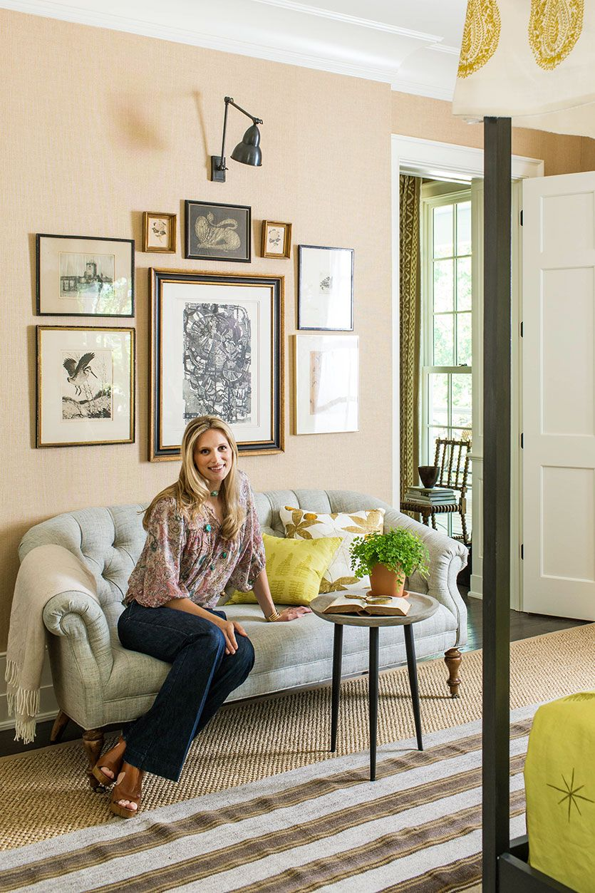 Lauren Liess Master Suite In The Idea House Bedroom Southern