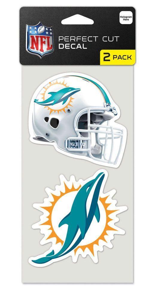 NFL Cincinnati Bengals 4x4 Perfect Cut White Decal One Size Team Color