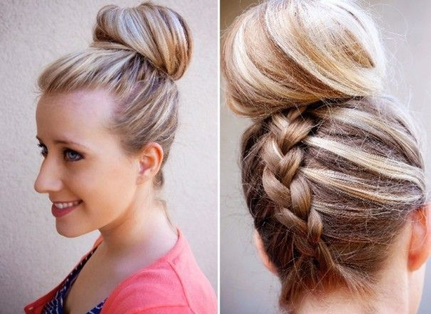 Miraculous Reverse French Braids French Braid Buns And Braid Buns On Pinterest Hairstyles For Women Draintrainus