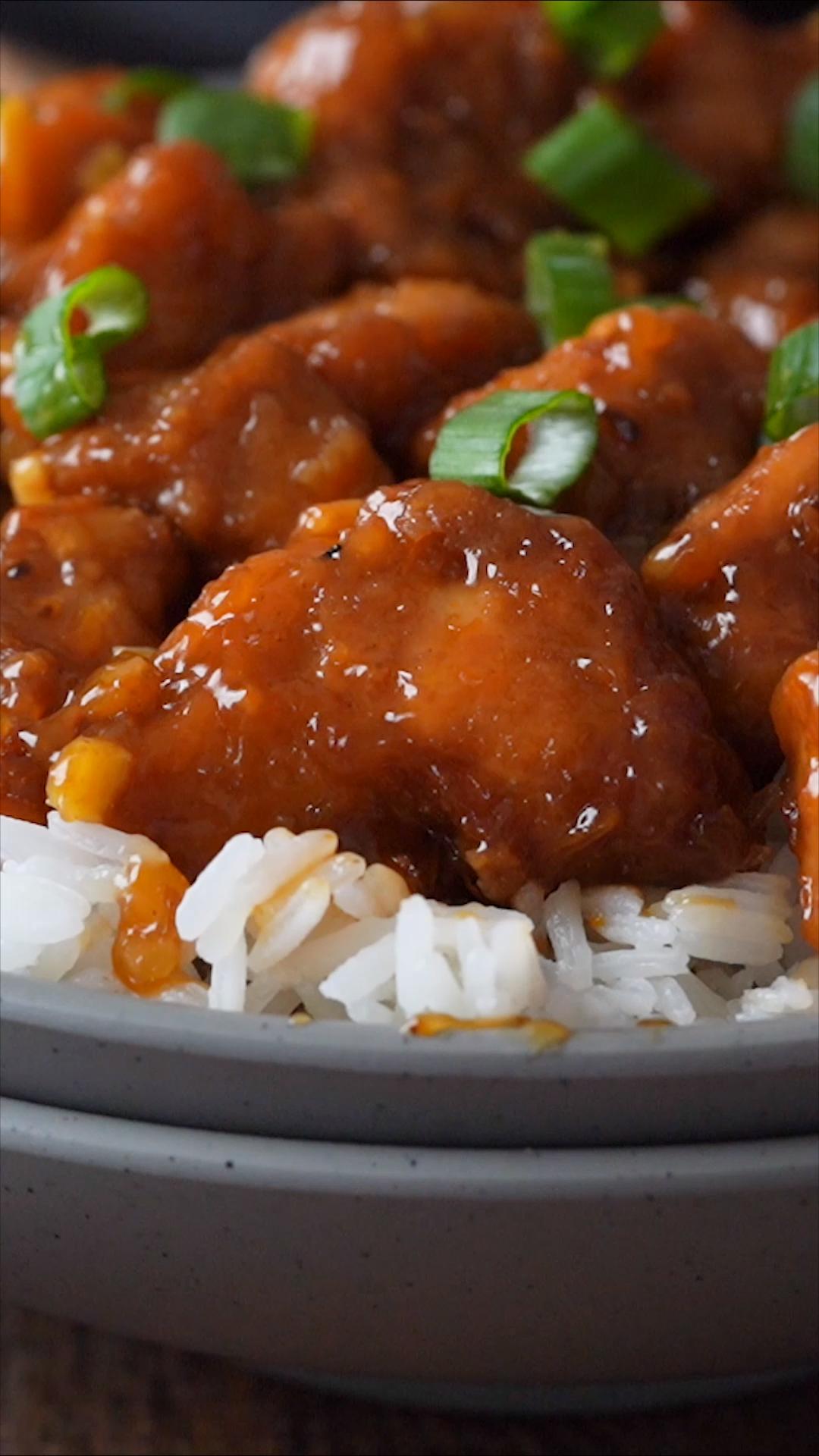 Orange Chicken Recipe #chineseorangechicken