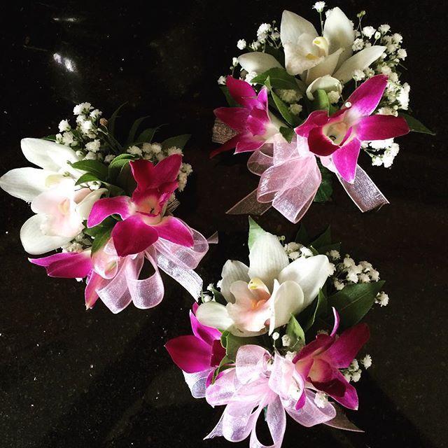 nice vancouver florist Corsages For Some Lovely Ladies #vancity #corsage #bridal #bride #bridalparty #weddingseason #weddings #yvr #floral #florist #flowerporn #flowerpower  #vancouverflorist #vancouverflorist #vancouverwedding #vancouverweddingdosanddonts