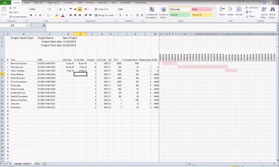 How To Create Excel Project Cost Estimator Template For Project