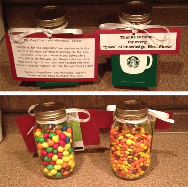 Gifts I made for my second cooperating teacher and her assistant ...