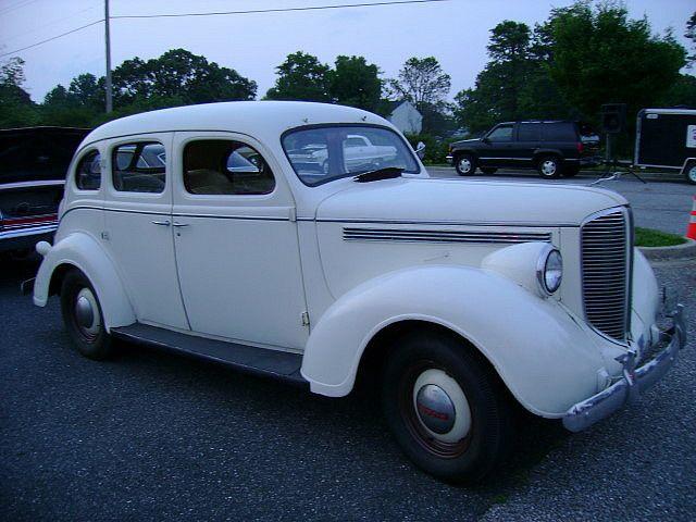 1938 Dodge 4 Dr Sedan Retro Cars Sedan Dodge