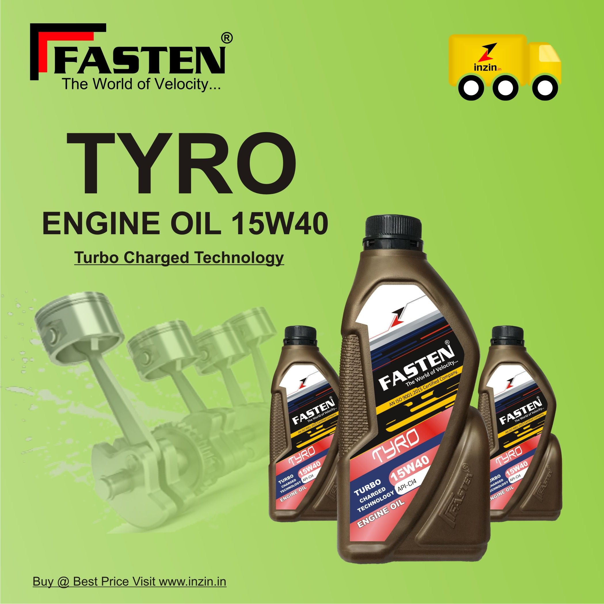 Tyro 15w40 Engine Oil Oils Oil Container Diesel Oil