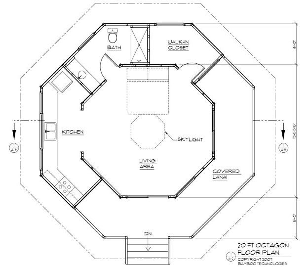 Two story octagon house plans Search Results Mat bang