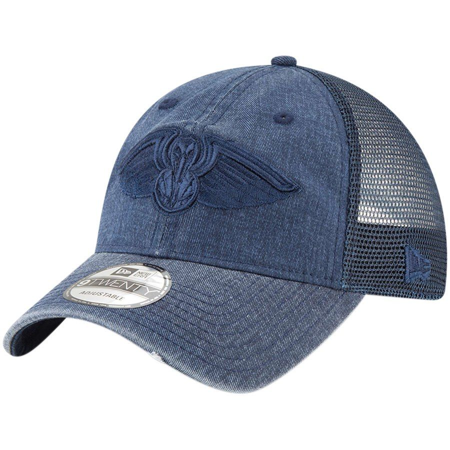 new products 00c3b 34183 Men s New Orleans Pelicans New Era Navy Tonal Washed Trucker 9TWENTY  Adjustable Snapback Hat, Your Price   23.99