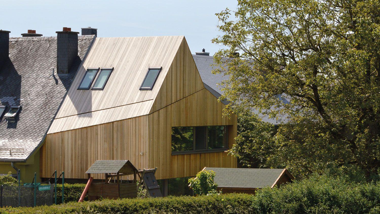 Anbau in Sandweiler, Luxemburg | holzfassaden / wood facade ...