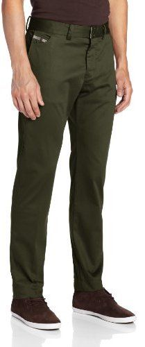 Olive Chinos by Diesel. Buy for $68 from Amazon.com