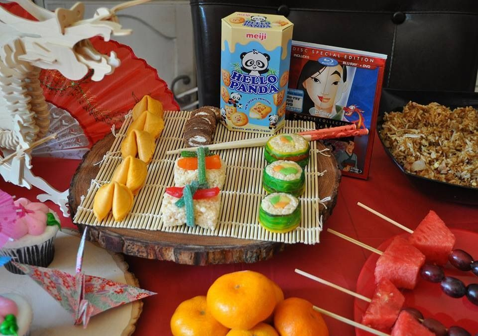Disney Mulan Party Candy Sushi. I used rice crispy treats, fruit roll ups, tootsie rolls, Swedish Fish and Twizzlers to make the candy sushi. #candysushi Disney Mulan Party Candy Sushi. I used rice crispy treats, fruit roll ups, tootsie rolls, Swedish Fish and Twizzlers to make the candy sushi. #candysushi Disney Mulan Party Candy Sushi. I used rice crispy treats, fruit roll ups, tootsie rolls, Swedish Fish and Twizzlers to make the candy sushi. #candysushi Disney Mulan Party Candy Sushi. I used #candysushi