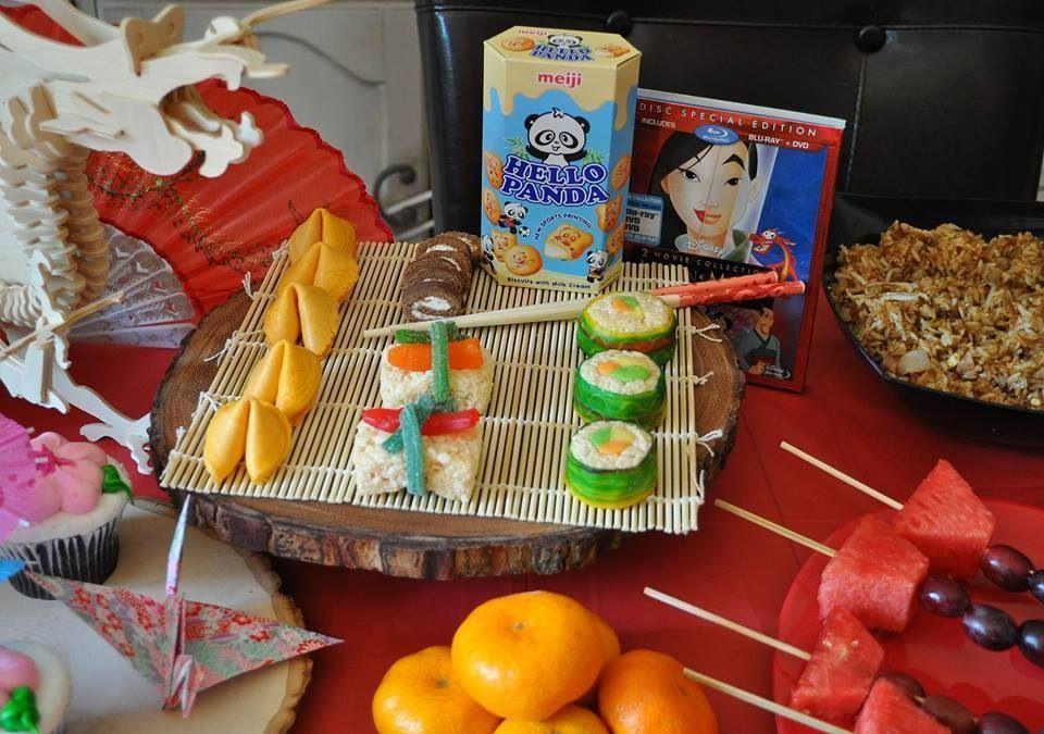 Disney Mulan Party Candy Sushi. I used rice crispy treats, fruit roll ups, tootsie rolls, Swedish Fish and Twizzlers to make the candy sushi. #candysushi Disney Mulan Party Candy Sushi. I used rice crispy treats, fruit roll ups, tootsie rolls, Swedish Fish and Twizzlers to make the candy sushi. #candysushi Disney Mulan Party Candy Sushi. I used rice crispy treats, fruit roll ups, tootsie rolls, Swedish Fish and Twizzlers to make the candy sushi. #candysushi Disney Mulan Party Candy Sushi. I used #candysushi