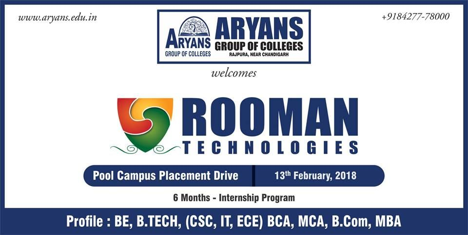Aryans group of colleges chandigarh is organising pool