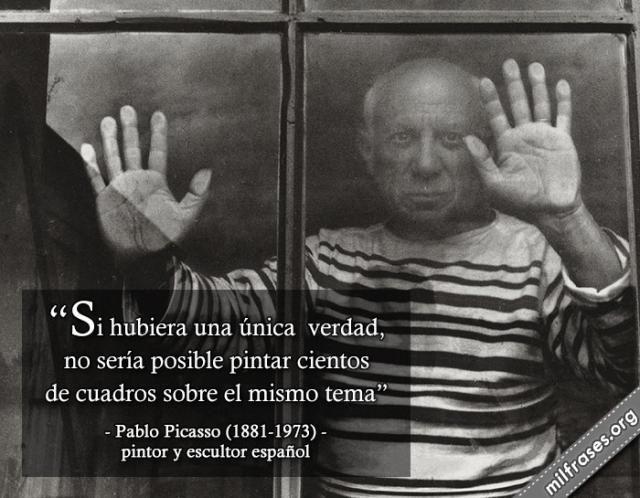 15 frases de Picasso sobre el arte: Frases y citas célebres de Pablo Picasso sobre el arte
