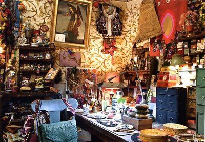 """Rebecca Pucell's Studio... """"a woman after my own heart!"""""""