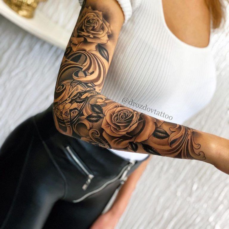 Tattoo Ideas Gillde Design Inspiration Tattoo Inspiration Girls With Sleeve Tattoos Best Sleeve Tattoos Sleeve Tattoos