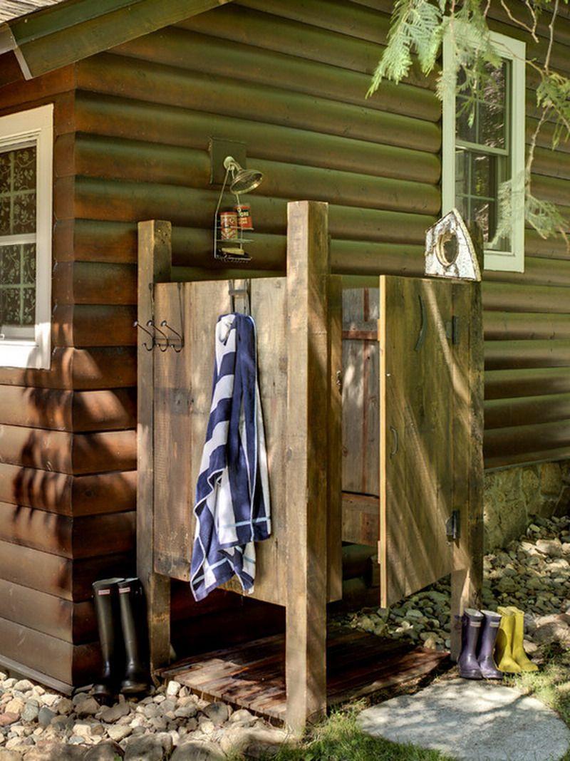 Nice Cheap Outdoor Patio Shower Design Ideas Outdoor Shower