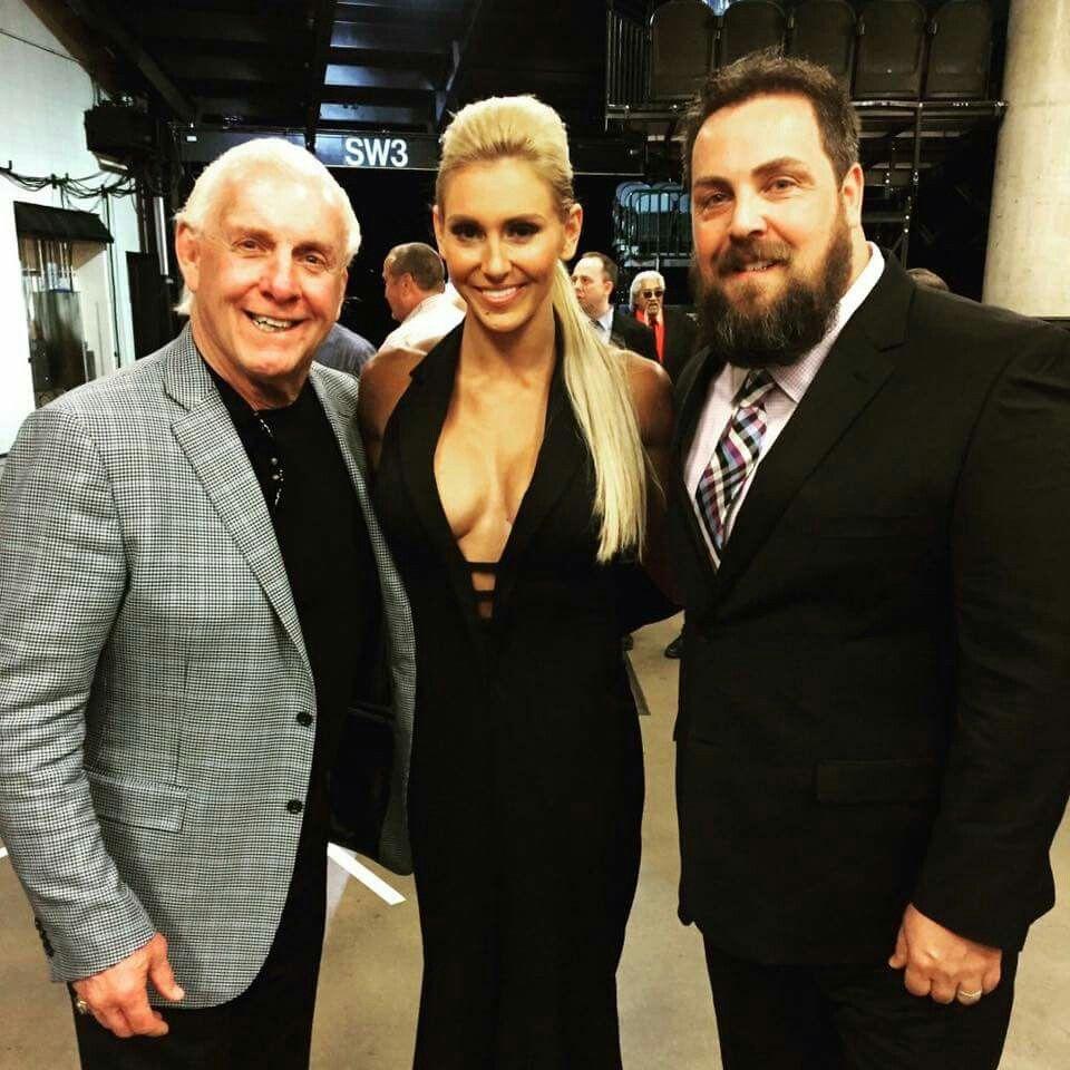 Gary Barlow Wedding Ring: Ric Flair, Charlotte Backstage At The Hall Of Fame