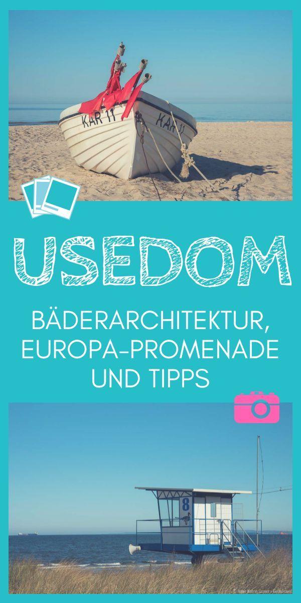 Die Ostseeinsel Usedom erleben Bäderarchitektur, Europa