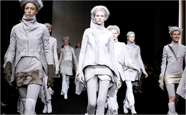 Blowing Kisses To Paris In The 40s With Images Rick Owens Women Rick Owens Fashion Landscape